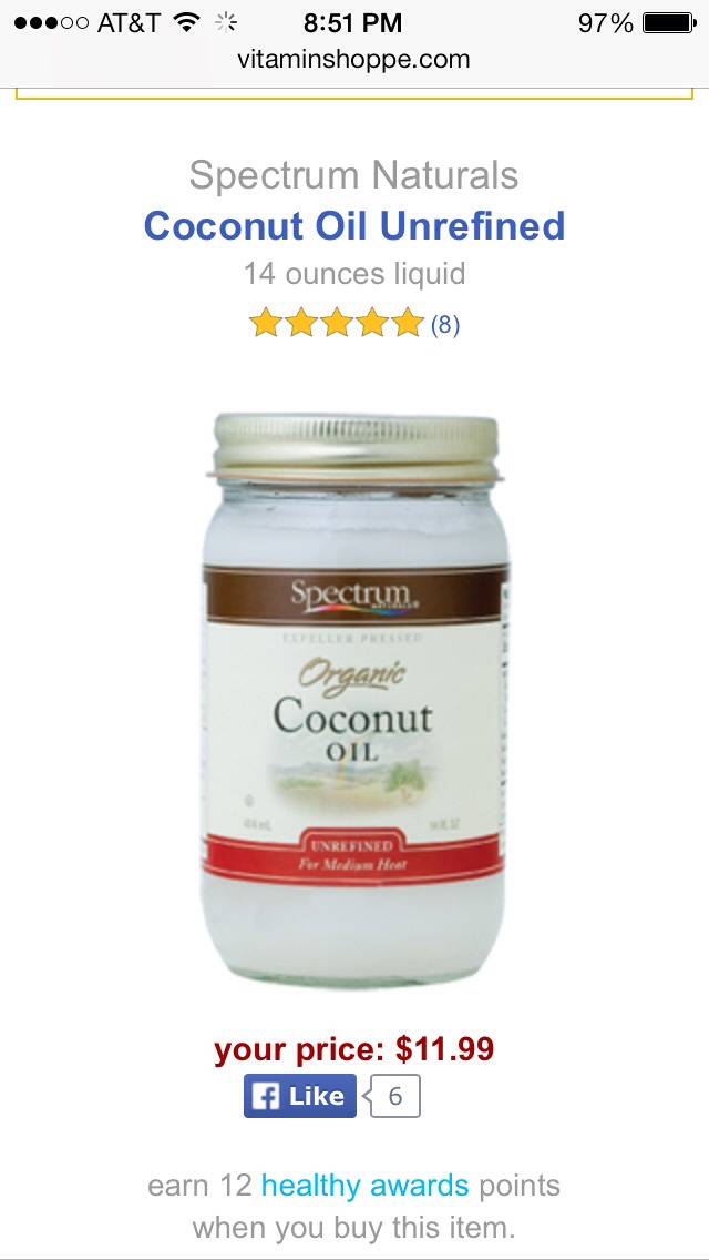 Lather on a couple teaspoons of this amazing UNREFINED COCONUT OIL into hair and scalp, throw a shower cap on and overnight it! And, rinse. Pure rejuvenation as it's finest!  Can do the same for your skin as well :)