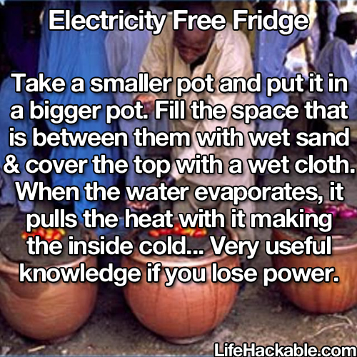 loose your power or need to keep somthing cold where theres no power ??  perfect solution. like :)