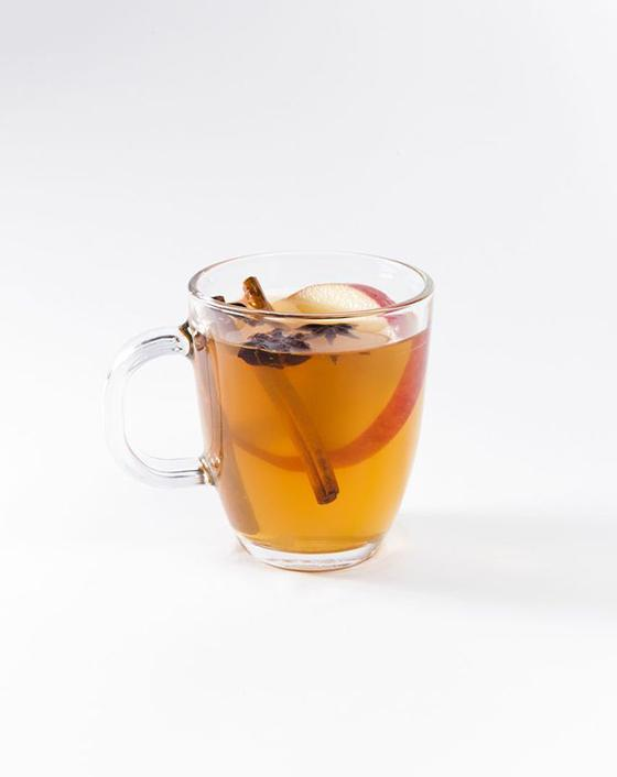 OWL'S TODDY • 2 parts Owl's Brew The Classic mix • 1 part Whiskey • Apple slices  1. Combine ingredients in saucepan 2. Heat until desired temp (do not boil) 3. Pour into mug 4. Garnish with cinnamon stick and enjoy!