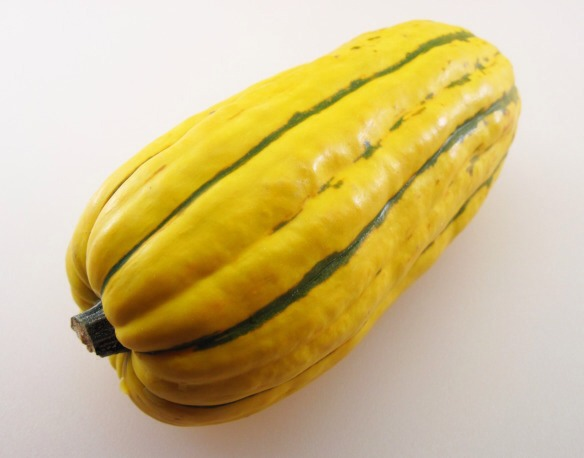 1-pound Delicata squash  1. Preheat the oven to 400˚.
