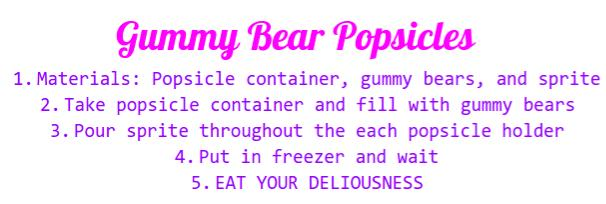 Have Fun Making Your Popsicles!