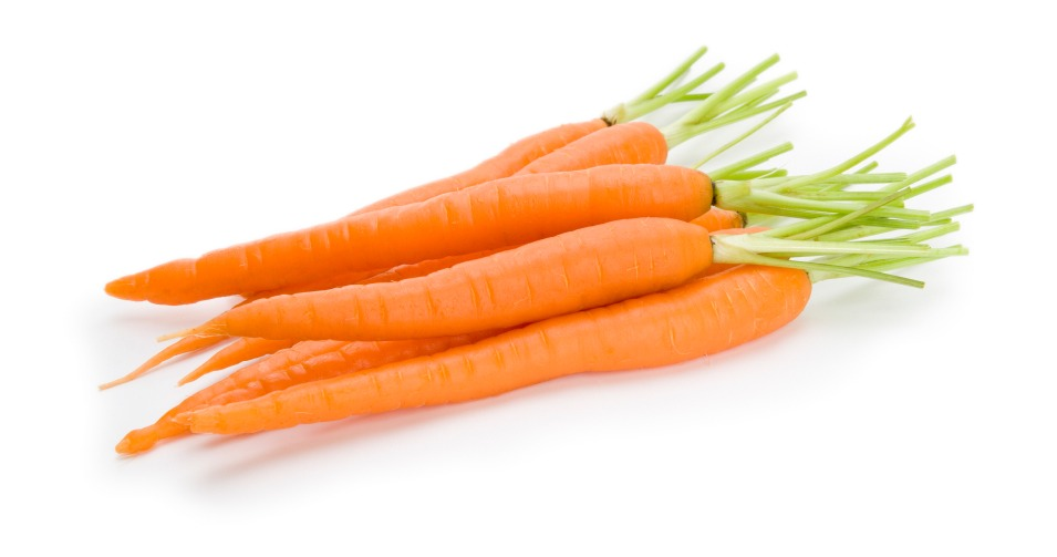Some people have swore that rubbing raw carrot sticks on your teeth will make them brighter
