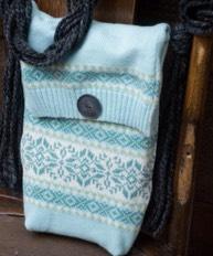 Sweater purse!