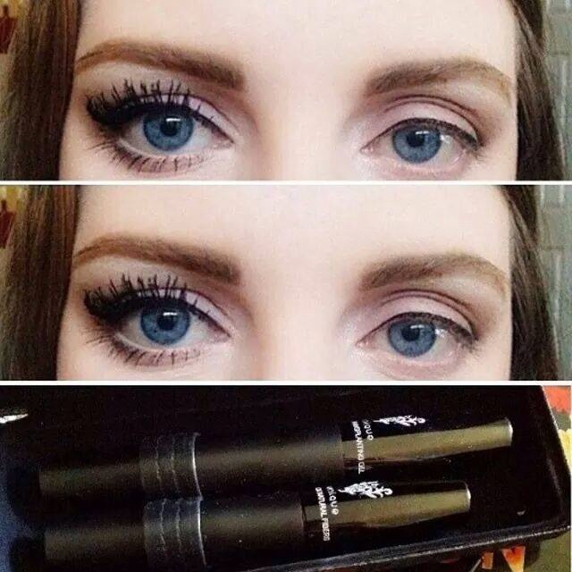 Can you tell which eye is 3D fiber mascara??