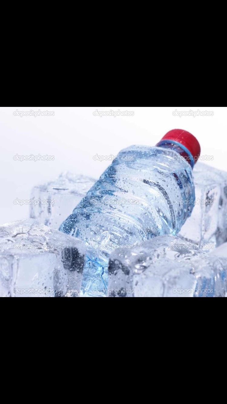 Fill a water bottle (17-18 ish oz) this is the recommended amount if you are really serious about losing weight. If you drink a bottle of water before,during or after a run in the morning then you will burn some serious calories.