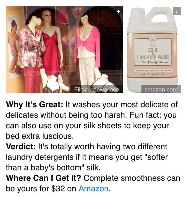 8. LeBlanc Silk & Lingerie Wash