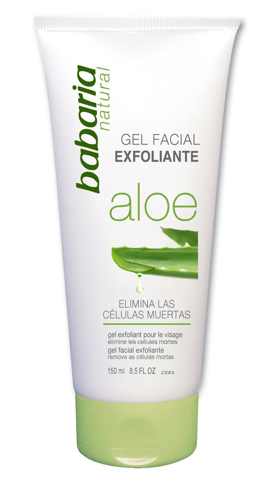 This scrub also works with Aloe Gel