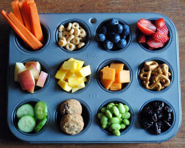 Kids love the variety of the snacks!  Please like and share!