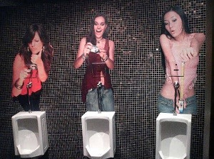 3. An Ego-Boosting Urinal