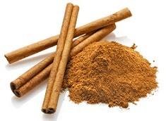 •Cinnamon