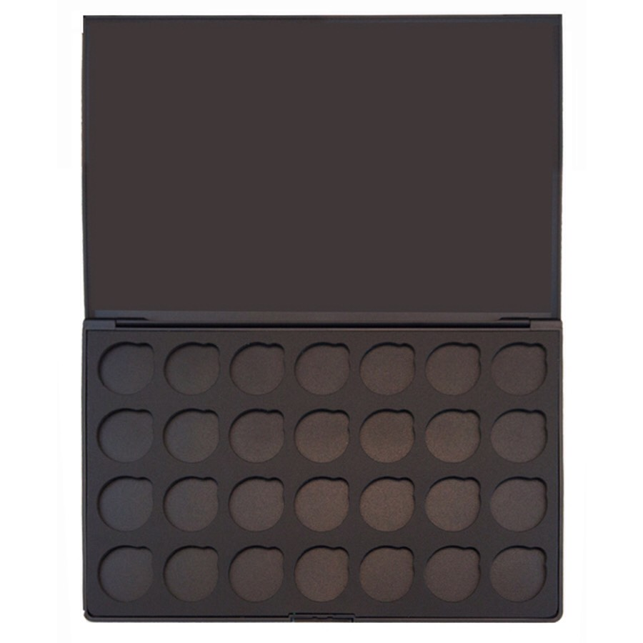 If you're wondering which palette this is...you can purchase it on morphe brushes.com!! This one fits 28 shadows and is magnetic.