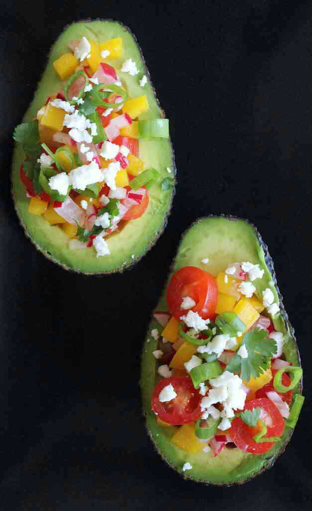 Avocados are high in protein and fiber without giving you the bloat!