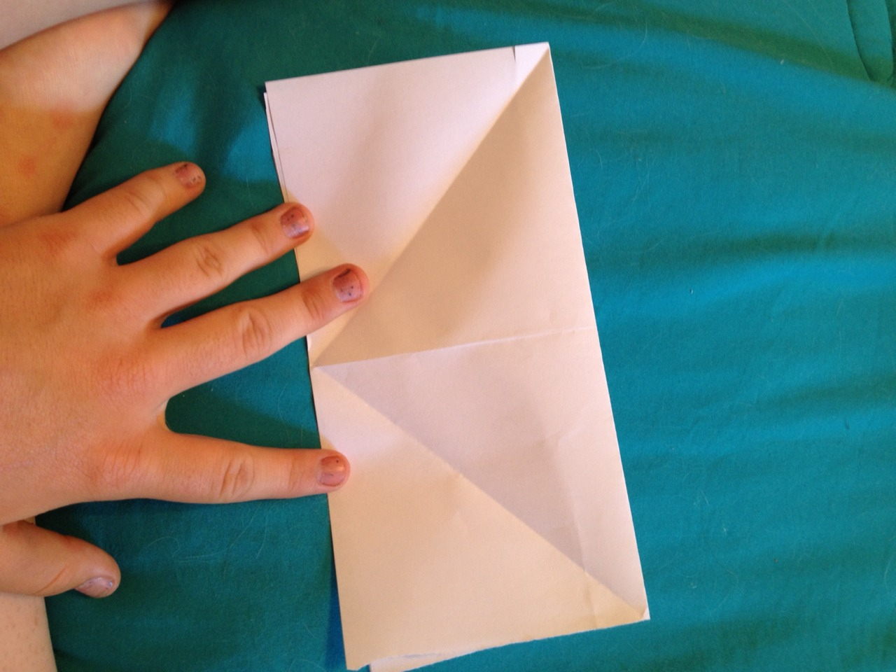 Fold in half and unfold