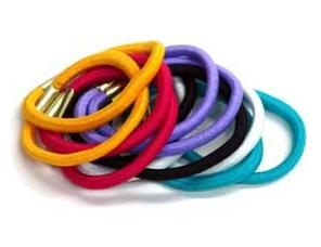 11. Hair ties  Lucky you: the ponytail is back, and the low-maintenance updo is perfect for hiding greasy hair and for perking up a look. Even the messiest ponytail with flyaways has a nonchalant charm to it.