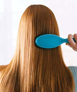 Brush your hair so there are no more tangles