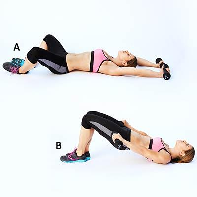 Butterfly bridge with lat pull