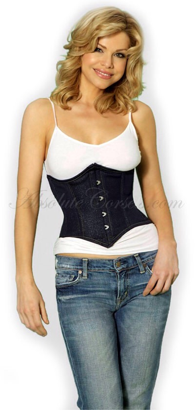 Try a waist corset / waist trainer . It slims your waist down in no time . You wear it when you exercise and you wear it around the house as well . It comes in all sizes and can be found at mytightwaist.com . You can also buy it in Walmart and on Amazon .