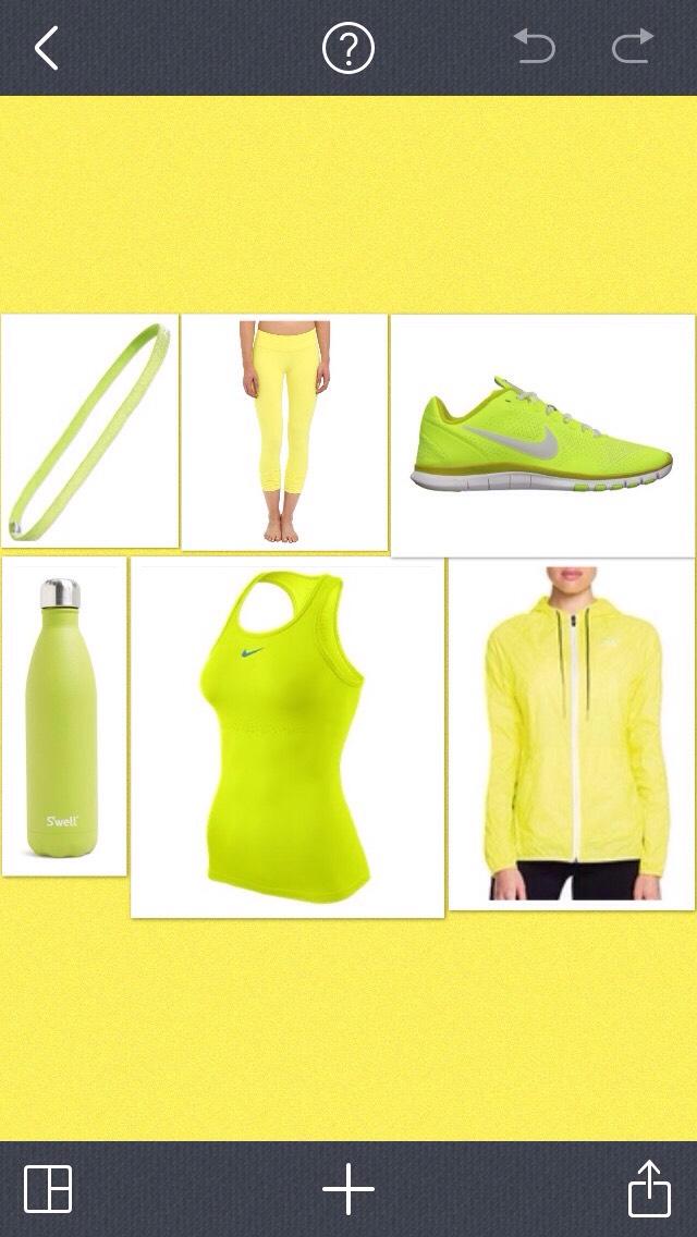 Yellow gym