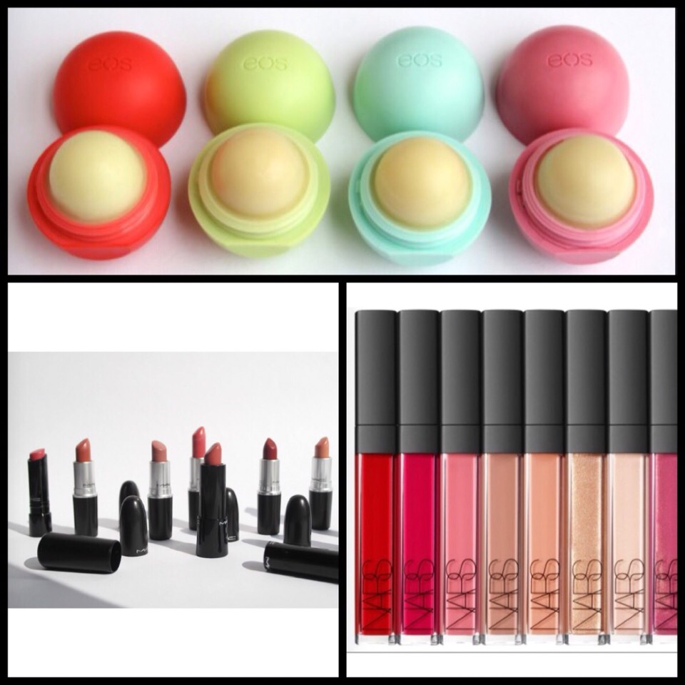 Lip:  You never know when you need to re-apply your lipstick/gloss or you might have dry lips and may need to put some lip balm on.