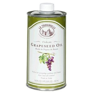 1-2 tablespoons of grape seed oil