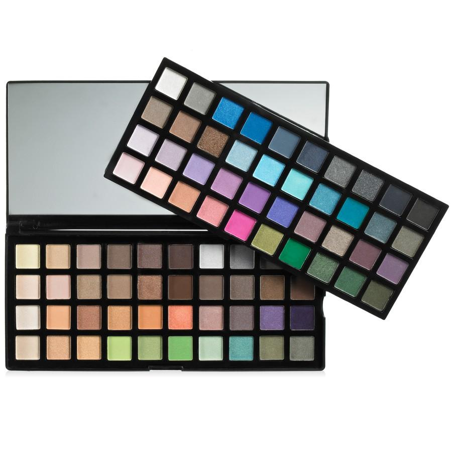 Do eye shadow like grey, orange,pink or black. Make sure to make it smoky and feel free to go up to your brow bone.