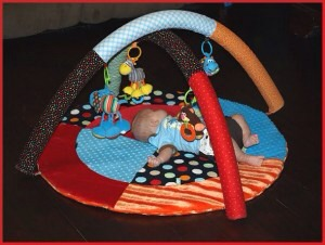 DIY activity set for baby.