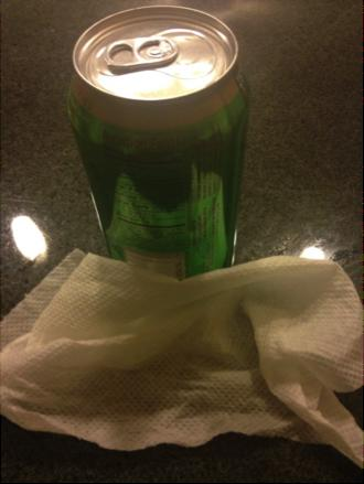 5.When you remove your beverage it will be cold