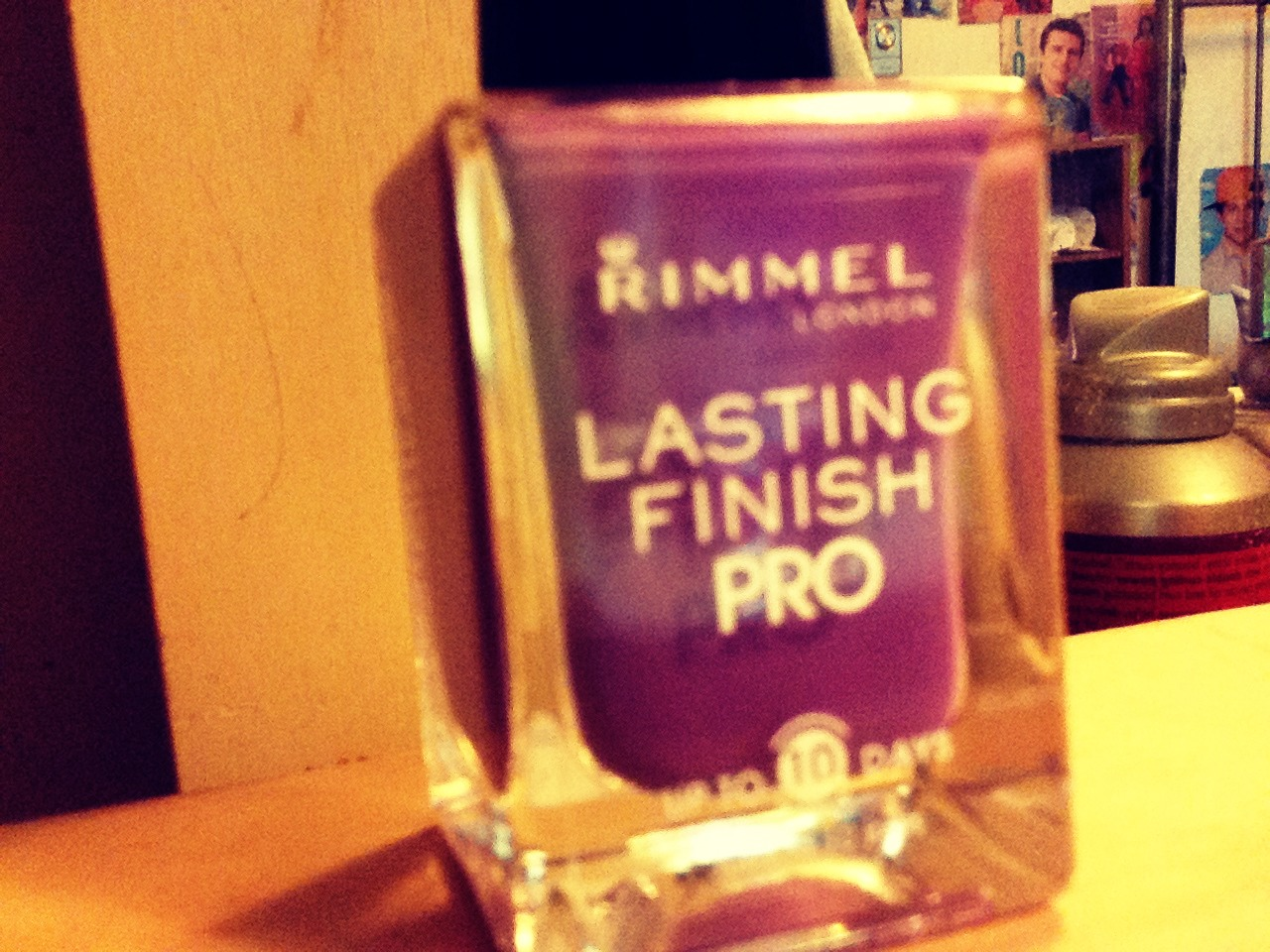 Rimmel Lasting Finish Pro is amazing, if you don't have this nail polish go get one<3