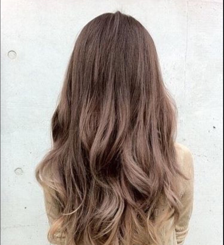 Get a balayage to add dimension.