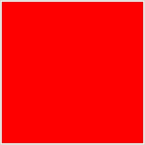 Something red
