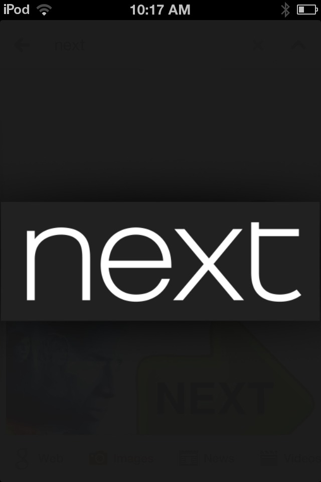I love next because they have got really nice cloths and always have loads of different designs of cloths