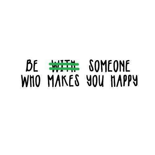 And be happy with who you are dont cover up something that is already beautiful, you have to love your self and be happy with your self before anyone else can. 😚😊