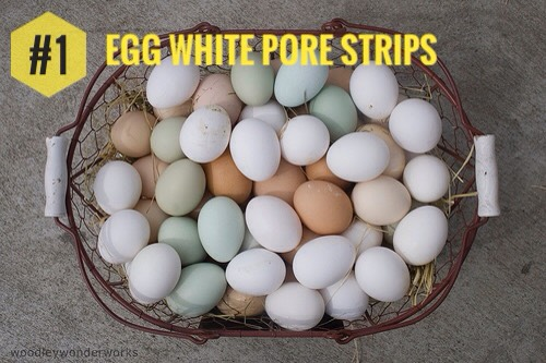 Egg White Pore Strips require only 2 ingredients, + they take just a few minutes to make. As the egg white dries, it will remove blackheads + the honey will soothe your skin naturally.