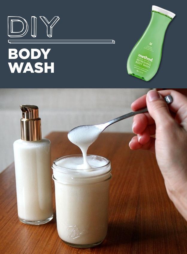 12. DIY Body Wash