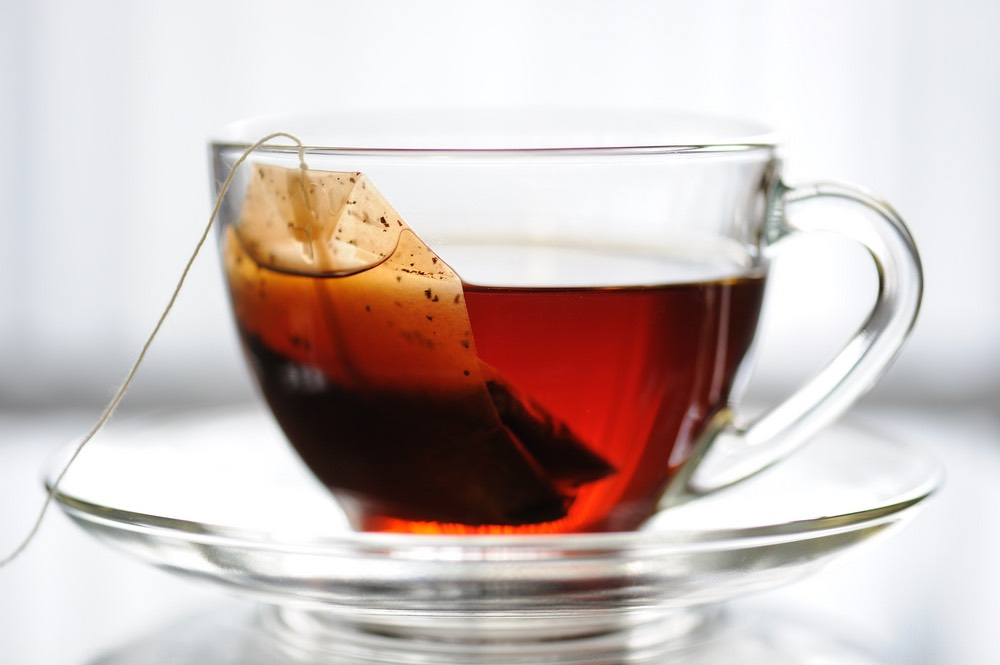 Throughout the day I will drink about 5 cups of tea. Either black 'english breakfast' tea Or with soya milk Or I will have a green tea