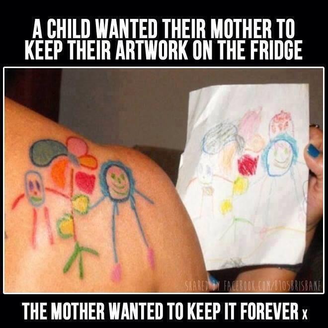 Or get it tattooed!