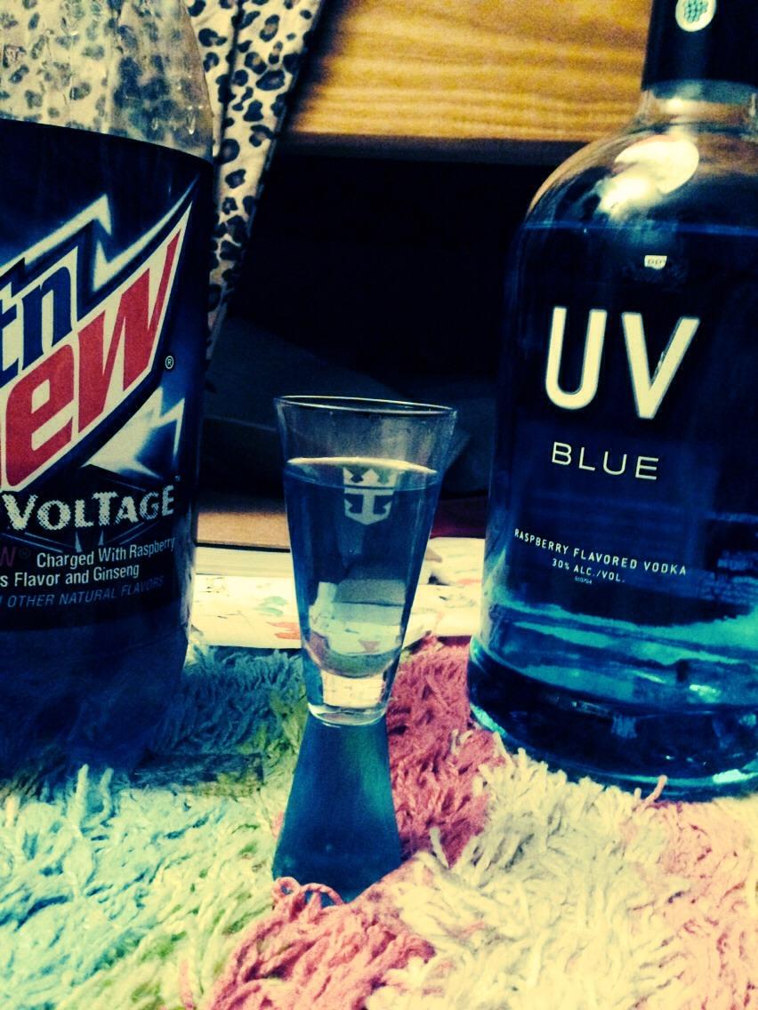 Voltage Mountain Dew & UV Blue Raspberry Vodka