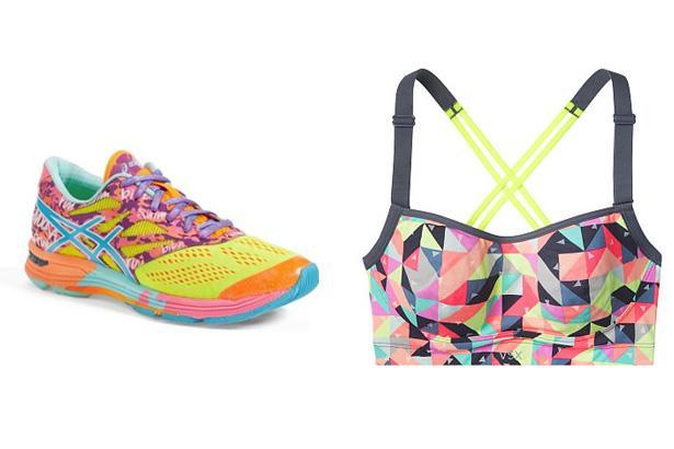 Asics Gel Noosa Tri 10 Running Shoes, $139.95 at Nordstrom  Angel by Victoria's Secret Sport Bra, $58.50 at Victoria's Secret