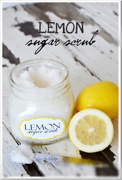 WHAT YOU'LL NEED: Coconut Oil or Almond Oil Granulated White Sugar doTerra or any Lemon Essential Oil