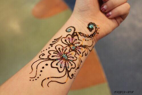 How to: temporary tattoo!