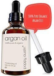POPPY AUSTIN |100% pure organic argan oil,rich in anti-aging Vitamin E, + famed for its natural healing + restorative properties.  💰 |$30