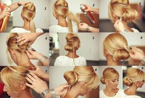 Beauty braid hair style 👍