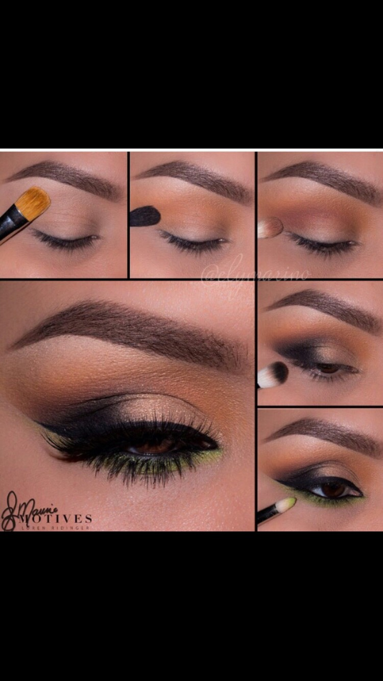 You can skip the yellow on the bottom for a more Natural look