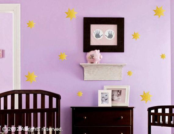 18. These Tangled-inspired wall decals are so pretty and subtle.