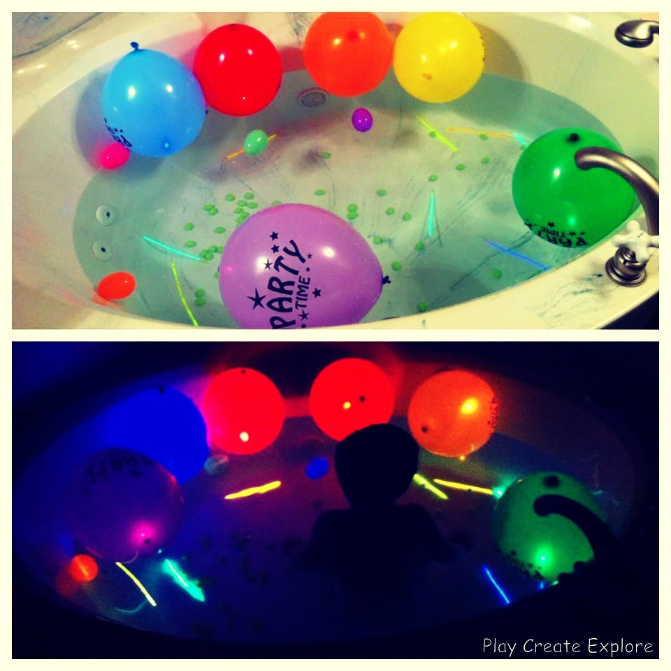 Glow in the dark water balloons - Finally Turn Off The Lights And Have Fun With Your Family