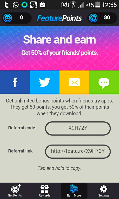 All you have to do is download a few apps and redeem points which can be free purchases or PayPal cash and more . Just use the referral code above and get earning.