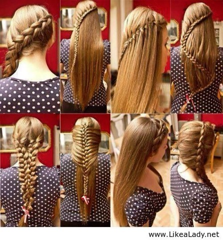 Here are 8 different hair Styles to do!