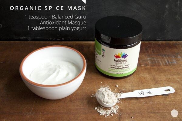 Part DIY, part pre-made, the wide variety of spices and berries in this mask deliver antioxidant protection and vitamin C to reduce skin aging.