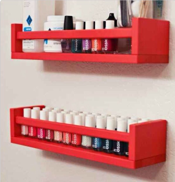 They also hold two rows of nail polish perfectly, if you've got an overflowing collection! 💅🏻