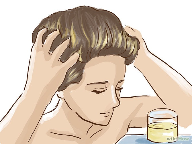 Massage your scalp. Massaging your scalp stimulates your follicles. Follicle stimulation is a key in growing your hair